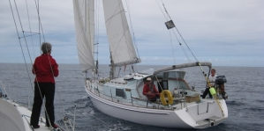 Steve and Carol Holland's yacht, Harlech, went missing from its Opua mooring